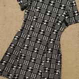 Dorothy perkins платье из структурной ткани а-силуэта, принт гусиная лапка