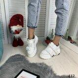 Стильные кроссовки «Gaga» на массивной подошве