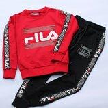 Стильный спортивный костюм Fila от 5 до 10 лет