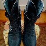 Брендовые демисезонные кожаные ботинки, Бразилия, размер-38