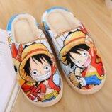 Очень красивые, удобные и теплые домашние аниме тапочки. Японские тапочки с героями мультфильмов.