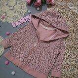 Кофточка 6-9 м, кофта с капюшоном для девочки, теплая кофта, детская нарядная кофта, свитер, кофта