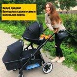 Детская коляска Babyzz Dynasty лучший вариант на все случаи Супер-Стильная Коляска для двойни 2 в