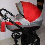 Продам коляску универсальную люлька и прогулочный блок Adamex Dragon муфта-варежки в комплекте