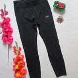 Крутые утепленные брендовые базовые чёрные спортивные лосины леггинсы тайтсы Li-Ning.