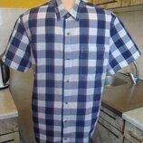 рубашка сине-белая клетка Cedar Wood State М/l 100%котон