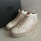 Мужские ботинки из натуральной кожи бренд ugg оригинал новые в наличии