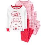 Пижама для девочки рр.92-134 Carter's Картерс