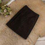 Очень качественная стильная юбка в рубчик от H&M рр 10 наш 44