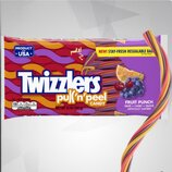 Мягкая карамель Twizzler Fruit Punch, 340 грамм