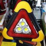 Автомобильный Треугольник знак предупреждает о дтп Лампа