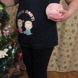 Одежда для беременных LC Waikiki. Лосины и футболка
