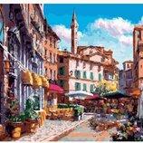 Картина по номерам Красочный город PGX26681. Премиум. Картины по номерам.