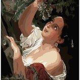 Картина по номерам Женщина эпохи барокко PGX8150. Премиум. Картины по номерам.