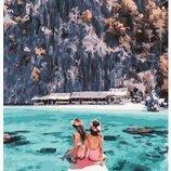 Картина по номерам Девушки у острова Корон PGX24916. Премиум. Картины по номерам