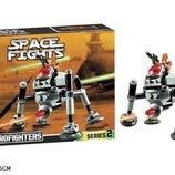 Конструктор Bela 10364 аналог LEGO Star Wars Самонаводящийся дроид-паук 102 деталей