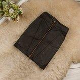 Очень качественная плотная джинсовая юбка от TWENTYFOURSEVEN рр 12 наш 46