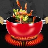 Оригинальная и красивая посуда с антипригарным покрытием в форме Томата. Лидер продаж.