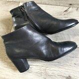 Ботинки женские Италия 24см 24.3см натур.кожа