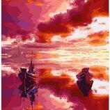 Картина по номерам Пылающее море GX24879. Классик. Картины по номерам
