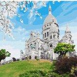 Картина по номерам Базилика на Монмарте GX29746. Классик. Картины по номерам