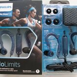 Новые Наушники Philips No Limits ActionFit SHQ3405 Blue