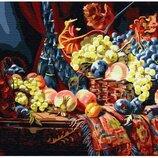 Картина по номерам Натюрморт с фруктами GX30535. Классик. Картины по номерам
