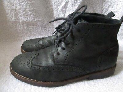 Кожаные деми ботинки River Island р. 41 см 26,5 См