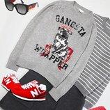 Милый дизайнерский свитерок с цуцей Н&м