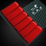 Подарочный набор мужских плавок в коробке Красные