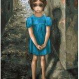 Картина по номерам Дочь. Маргарет Кин GX29289. Классик. Картины по номерам