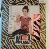 Футболка для девочки рост 110 116 animal planet Германия