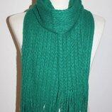 Женский комплект шарф перчатки