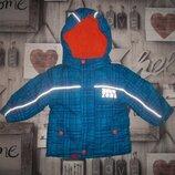 Красивая куртка с капюшоном рр. 86 Topomini