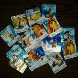 Набор коллекционных 3 D карточек Ледниковый период 4