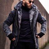 Курточка парка мужская