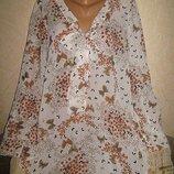 Модная блузка с бантом Next 90 грн