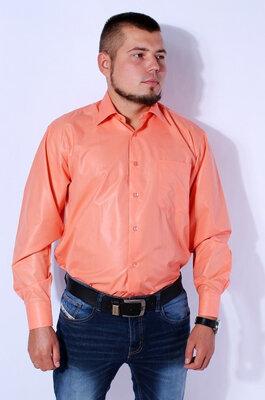 Рубашка мужская оранжевая kongres, р.40-43, турция.