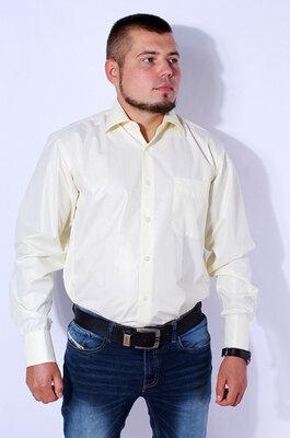 Рубашка мужская светло-желтая kongres, р.39-42 турция.