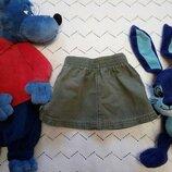 Юбка джинсовая,хаки,george