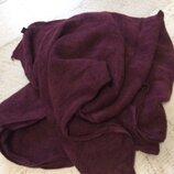 Шикарный марсаловый шарф из кашемира