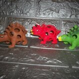 Мягкие динозавры Цена за 3 шт.