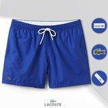 Шорты мужские пляжные Lacoste Swimming Trunks синие