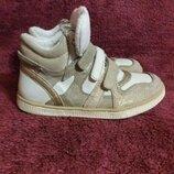GEOX Детские кожаные ботиночки