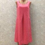 Платье сарафан 100% лен