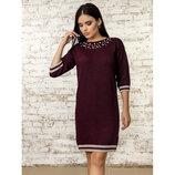 Супер качество Полная распродажа Платье теплое нарядное 42-46