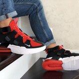 Кроссовки мужские Nike Air Force 270 , black/red