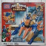 Конструктор Mega Bloks Power Rangers Samurai Золотой Зорд-Краб 5819