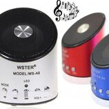 Колонка портативная WSTER WS-A9 с радио и mp3
