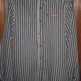 Рубашка в полоску фирмы No Excess p. S-M